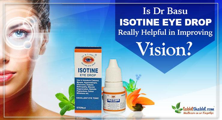 Dr Basu Isotine Eye Drop