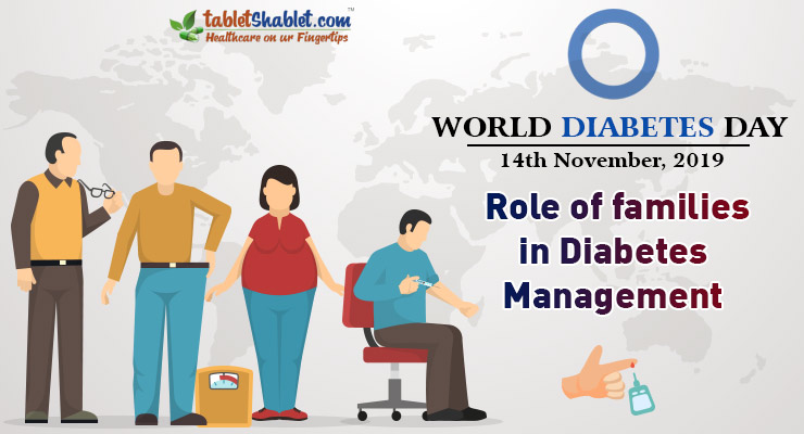 World Diabetes Day 2019: Role of families in Diagnosis and Diabetes Management