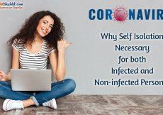 Self Isolation for Coronavirus