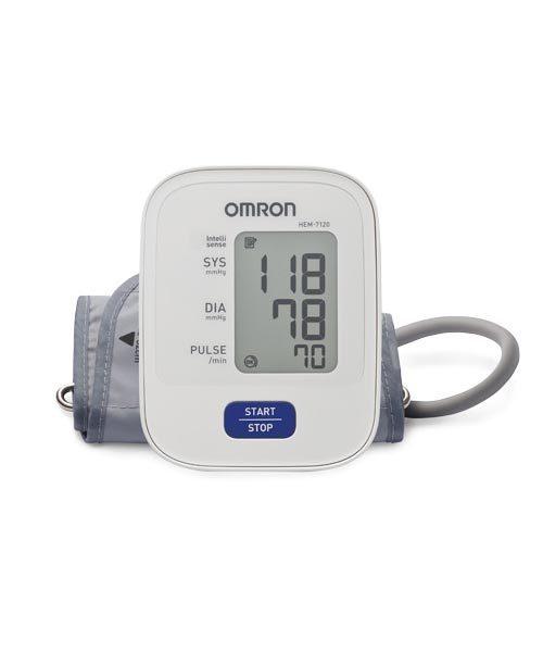 Omron Blood Pressure Monitor Upper Arm HEM 7120 IN