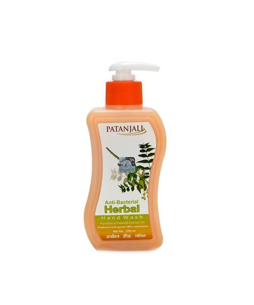 Patanjali Herbal Handwash Anti Bacterial 250-ML