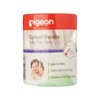 Pigeon Cotton Swabs Thin Stem