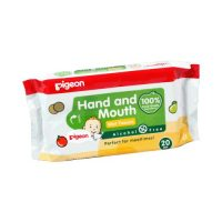Pigeon Hand and Mouth Wipes
