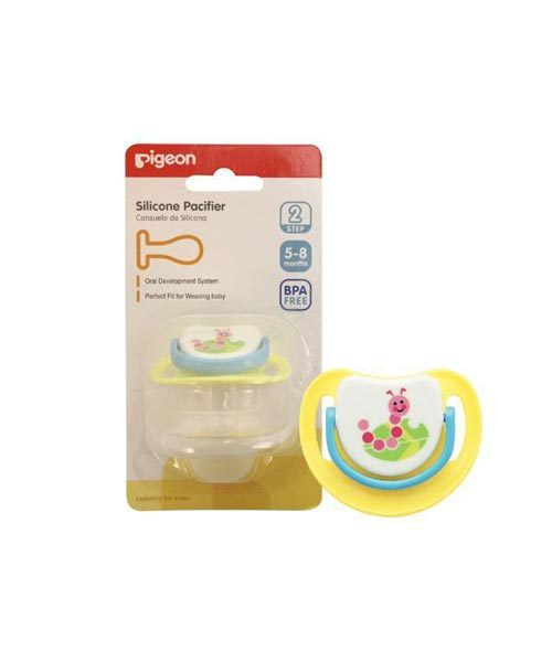 Pigeon-Silicone-Pacifier-Caterpillar Step 2