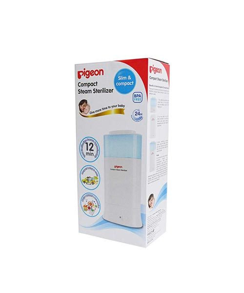 Pigeon Steam Sterilizer Compact Type 2 Round Pin