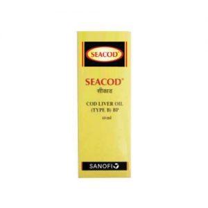 SEACOD COD LIVER OIL 60 ML