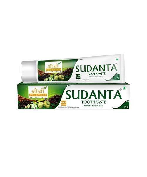 Sri Sri Ayurveda Sudanta Toothpaste 50 GM