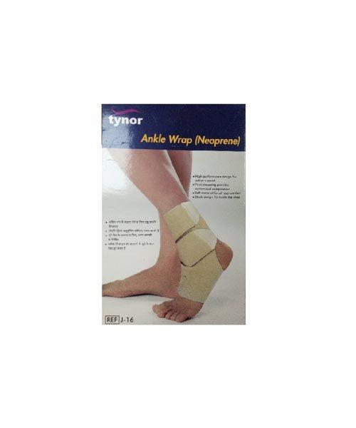 Tynor J 16 Ankle Wrap (Neoprene)