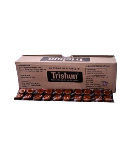 Zandu Trishun Tablet