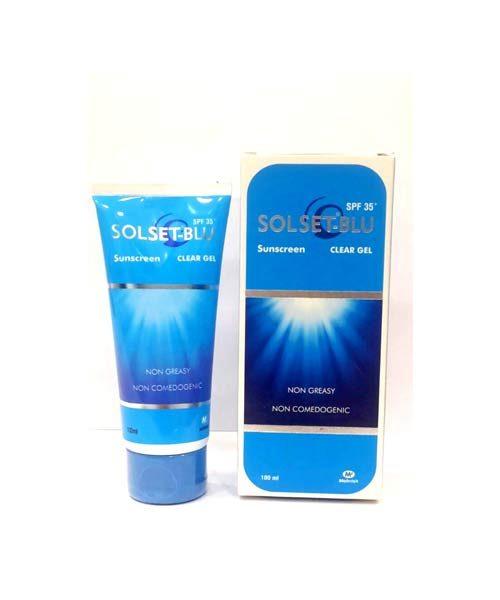 Solset blu Sunscreen