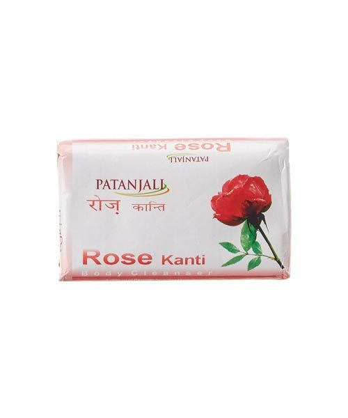 Patanjali Rose Kanti Body Cleanser Soap