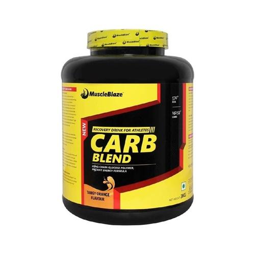 Muscleblaze Carb Blend - 3KG (Tangy Orange)