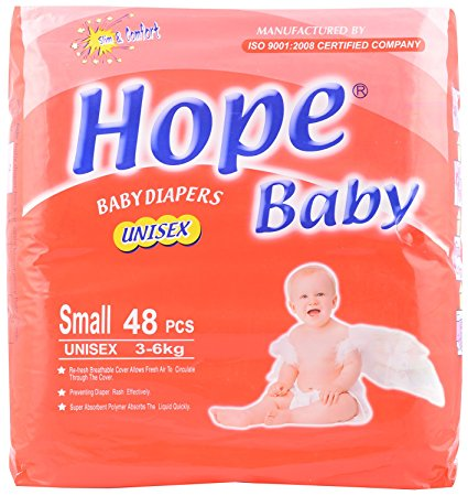 HOPE BABY DIAPER 48'S SMALL 1