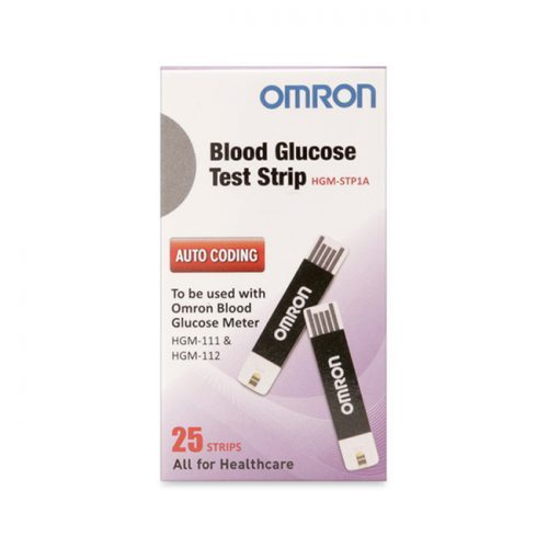 BLOOD GLUCOSE TEST STRIPS-HGM-STP1A-AP25
