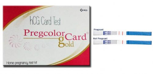 PREGCOLOR CARD GOLD