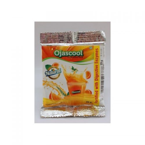 ojas cool tulasi orange drink