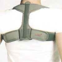C3 CLAVICLE BRACE WITH VELCRO (Elastic)