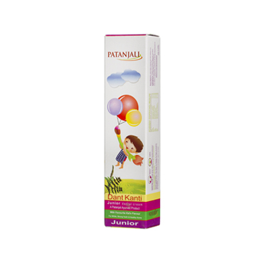 PATANJALI DANT KANTI DENTAL CREAM JUNIOR 100 GM