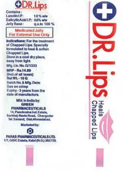 DR.LIPS 10 GM