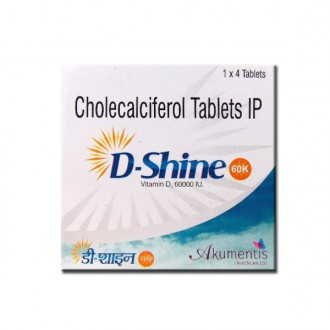 D-SHINE 60K TABLET