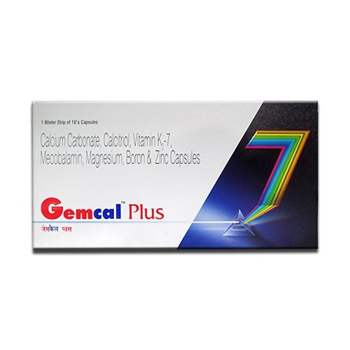 Gemcal Plus Softgel Capsule