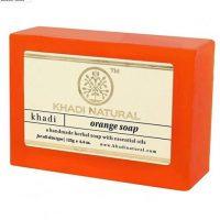 KHADI ORANGE SOAP 125 GM