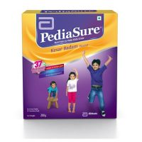 PEDIASURE REFIL POWDER KESAR BADAM 200 GM