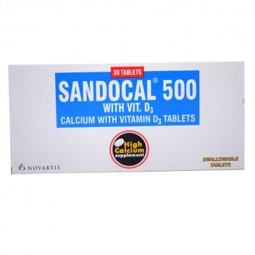SANDOCAL 500 MG VIT D3 TABLET 1
