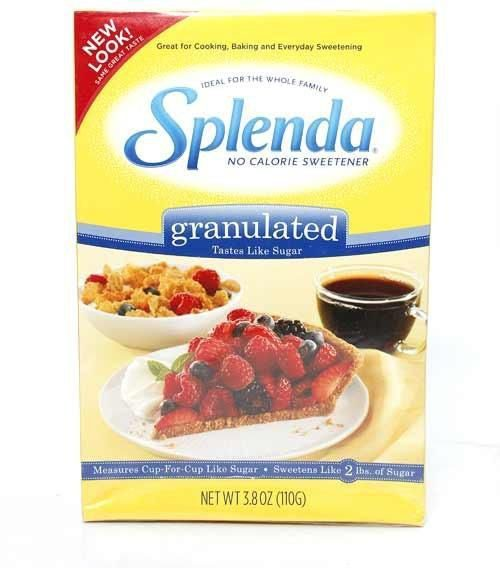 splenda no calorie sweetener granules 110 gm