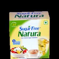sugar free natura sachets