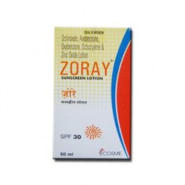 ZORAY SUNSCREEN LOTION 60 ML