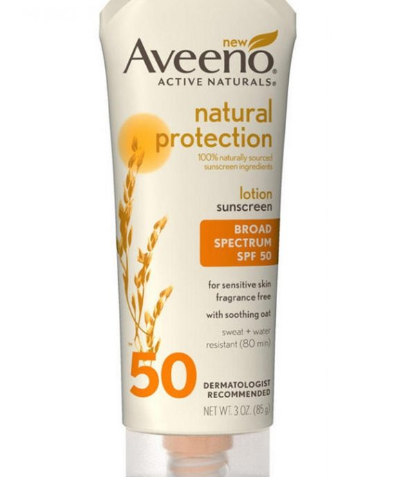Aveeno SPF50 Sunscreen