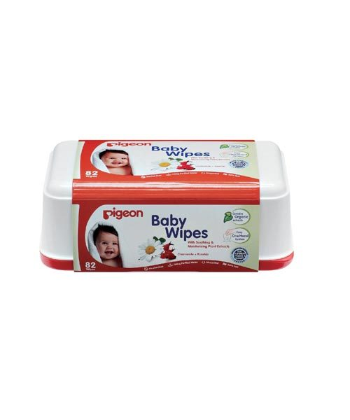 Pigeon Baby Wipes Cham & Rose Refill