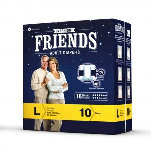 FRIENDS OVERNIGHT DIAPER