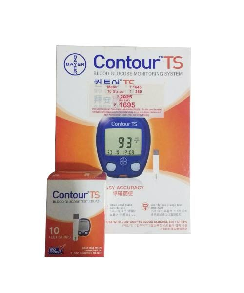 Bayer Contour TS Blood Glucose Monitoring