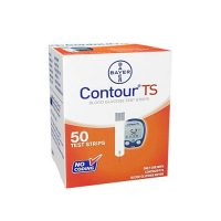 Bayer Countour TS Blood Glucose Test 10 strips