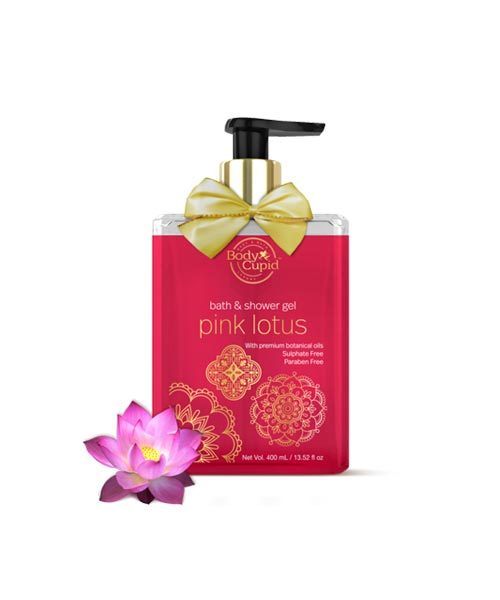 Body Cupid Shower Gel Pink Lotus 400ml