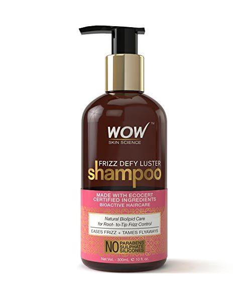 Wow Frizz Defy Luster Shampoo