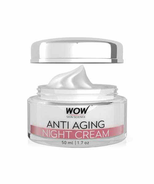 Wow Anti Aging Night Cream