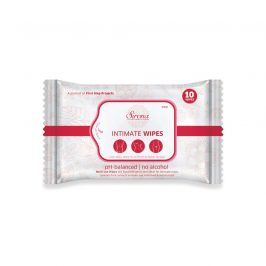 Intimate Wet Wipes by Sirona (10 Wipes - 1 Pack)