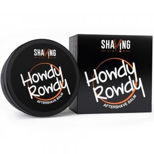 howdy rowdy after shave balm