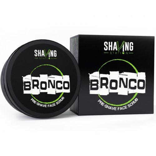 bronco pre shave scrub