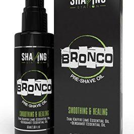 bronco pre shave oil