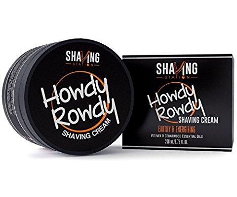 howdy rowdy shaving cream