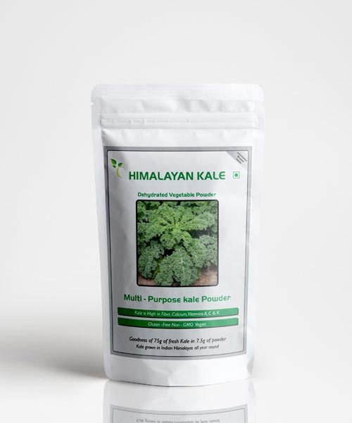 Himalayan Organic Kale Powder 45GM The Queen Of Greens