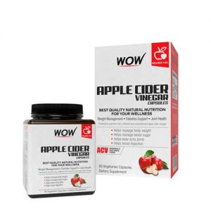 WOW Apple Cider Vinegar Capsules