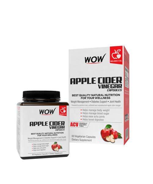 WOW Apple Cider Vinegar Capsules