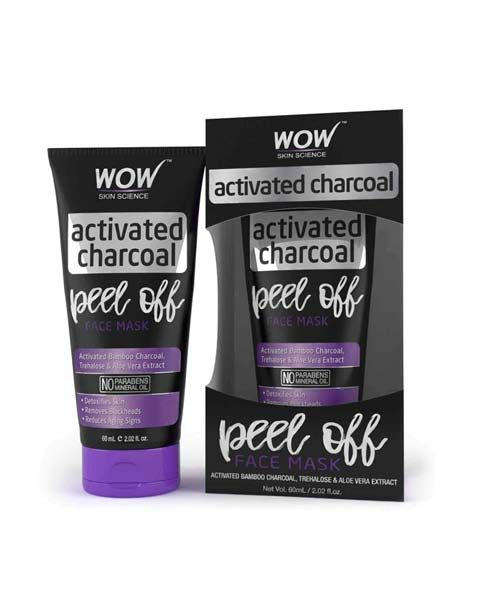 WOW Activated Charcoal Peel Off Mask
