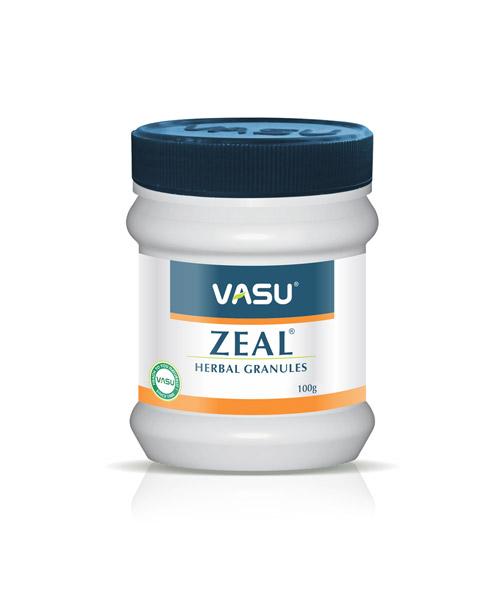 VASU-Zeal-Herbal-Granules-(Congesence-free,-Easy-breathing)-100gm