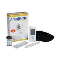 Accusure Blood Glucose Monitoring System Gold